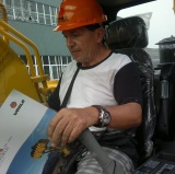 Colombia Customers Visiting-Excavators
