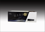 Babson toner cartridge color box