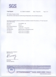 PC Hard Cases with Water trasfer printing SGS Test Report