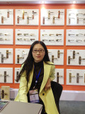 MS.LILY JINN in OUR BOOTH 2015 APRIL