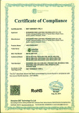 RoHs Certificate for LED Downlight