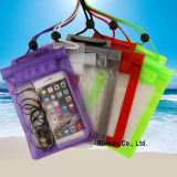 pvc whaterproof bag for mobile phone