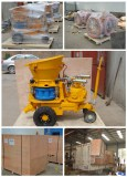 shotcrete spraying machine for Singapore customer