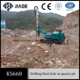 Blast hole drilling rig KS668