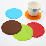 silicone cup mat for coffee cup