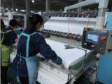 The production process of facial tissue paper