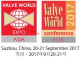 Valve World Asia EXPO 2017 SUZHOU(20th~21st,September)