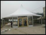 Polygon pagoda tent
