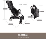 Compare European type aluminum Frame baby stroller baby carriage
