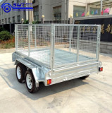 Our utility galvanized trailers
