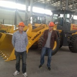 Brazilian Customers Visiting-Wheel Loaders