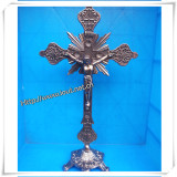 Factory Discount Wholesale Newest Hot Sale Alloy Rosary Crucifix (IO-CA001)