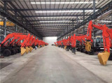 Wheel excavator workshop