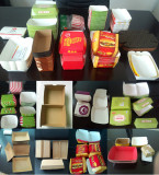 lunch box finish sample by box forming machine