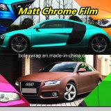 PVC Material Colors Matt Chrome Car Wrap Vinyl Film