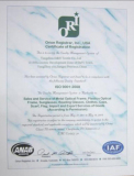 ISO9001 2010 Certificate