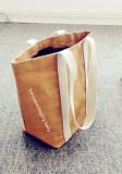 washable paper shooping bag grocery handle bag