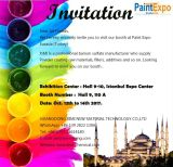 Invitation Letter to Paint Expo Eurasia