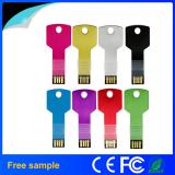Metal Aluminium Key Shape USB Flash Drive 8GB