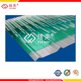 polycarbonate corrugated sheet .