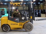 Forklift in Middle East Asia