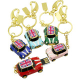 Mini cooper style Car metal usb flash drive