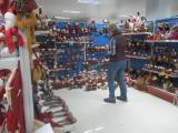 Customers selecting and working at our showrooms