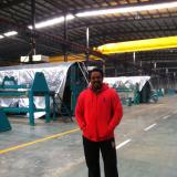 American customer in the Workshop of Bingye company