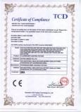 Fluorescent Lighting Fixture CE-EMC Certificate