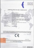 Car Fan-CE certificate