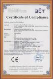 LED Timer clock CE Certificate