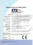 CE Certificate for automatic labeler
