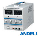 DC Regulated Power Supply - Adjustable DC regulated power supply-analog display