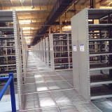 rack mezzanine system for small parts storage