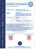 CE Certificate of Safety Glasses