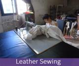 leather sewing