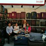 Trade show in Dubai 2016-chubont luggage