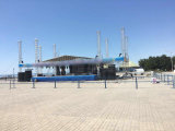 Outdoor truss tent in Kazakhstan