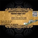 EGYPT 2017 PRINT EXHIBITION INVITATION