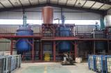 Furan resin production line