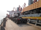 Northbenz tractor shipped by bulk ship
