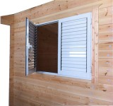 Aluminium Casement adjustable louver blade window