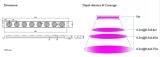 Design of led grow light model Myan-DC515