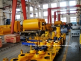 Concrete mixer producing workshop