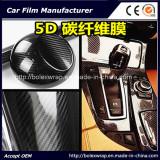Car Wrap Film 5d carbon Fiber Vinyl Film for Carbon Fibre Vinyl Wrap