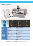 CNC Router with 3D Scanner