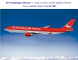 Air freight from China to Europe