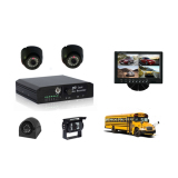 Cheapest 4ch Mobile DVR camera solution to bus/car/truck