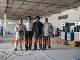 Our engineers installed machines in customer′s Water Plant inThe Republic of Tunisia
