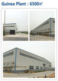 Guinea Prefab Steel Structure Warehouse